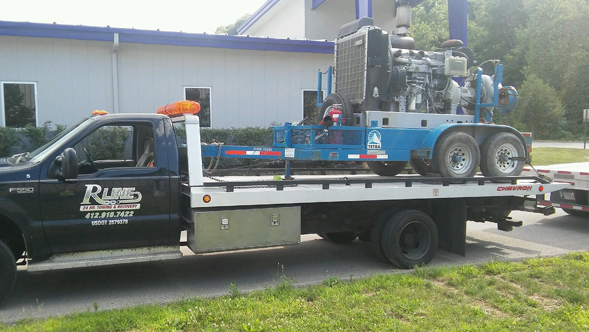 equipment transport bridgeville_pa