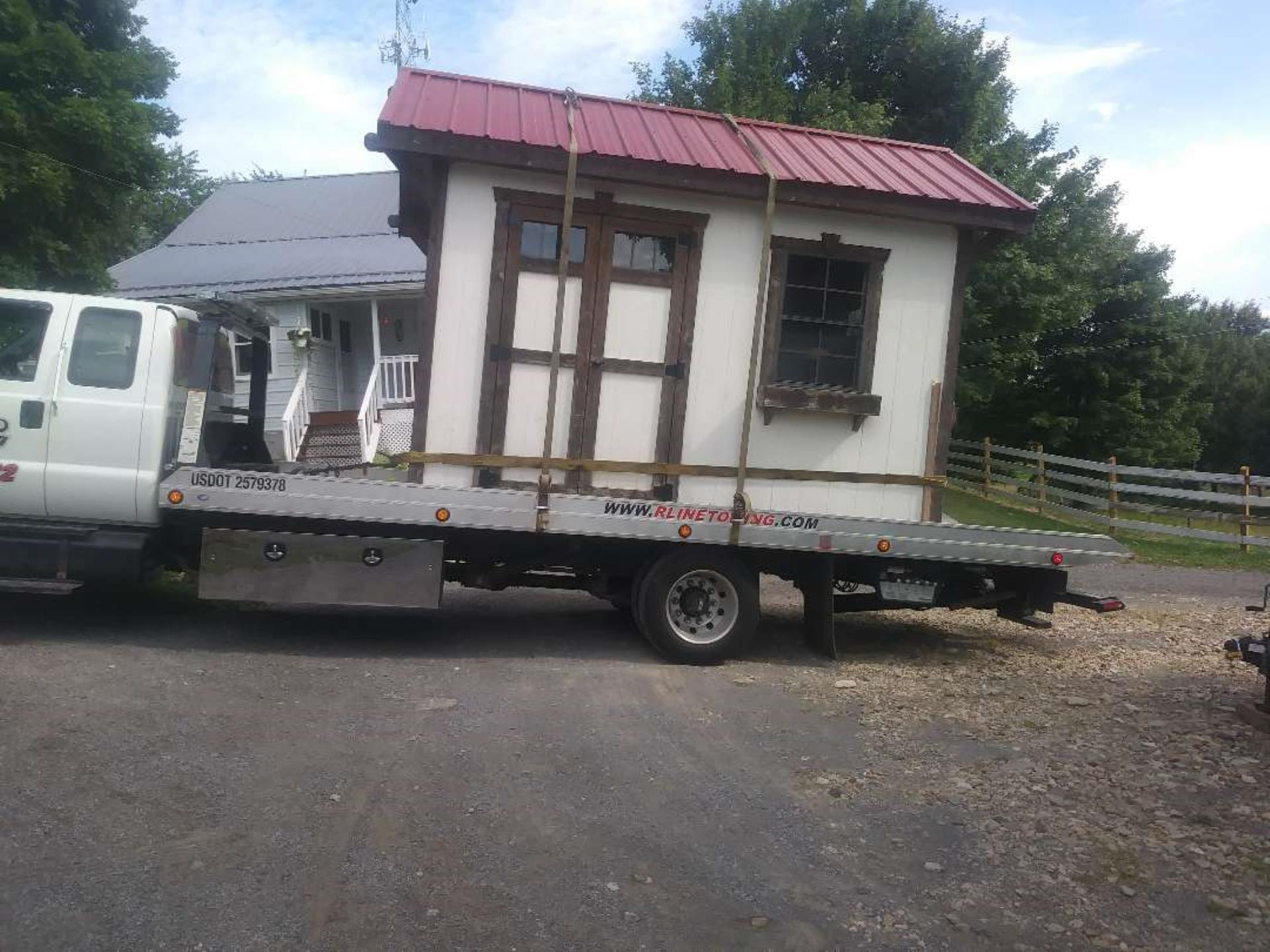shed relocate