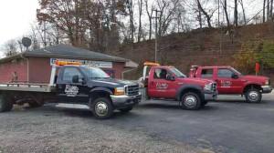R Line Towing Trucks