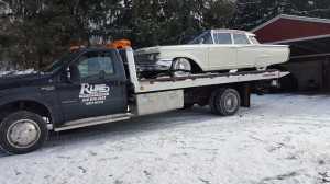 Classic Car Tow