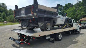 Medium Dump Truck Towing