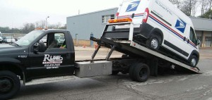 Post Office Truck Tow